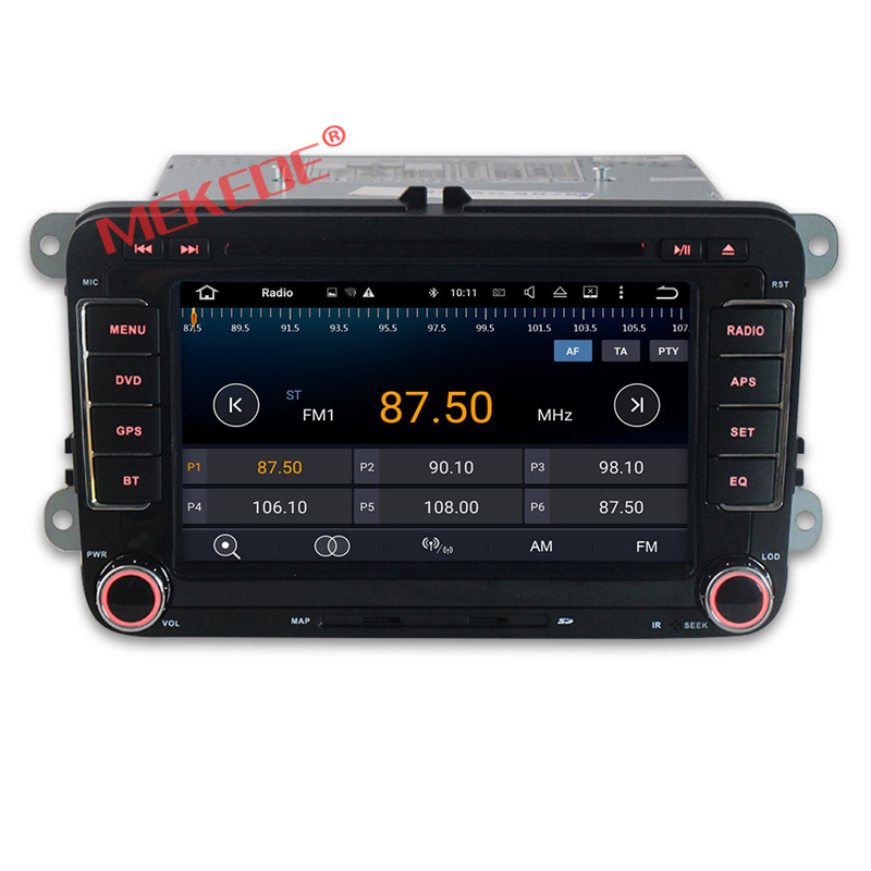 7inch Capacitive screen Quad Core HD1024X600 Android7 1 font b Car b font Multimedia player for