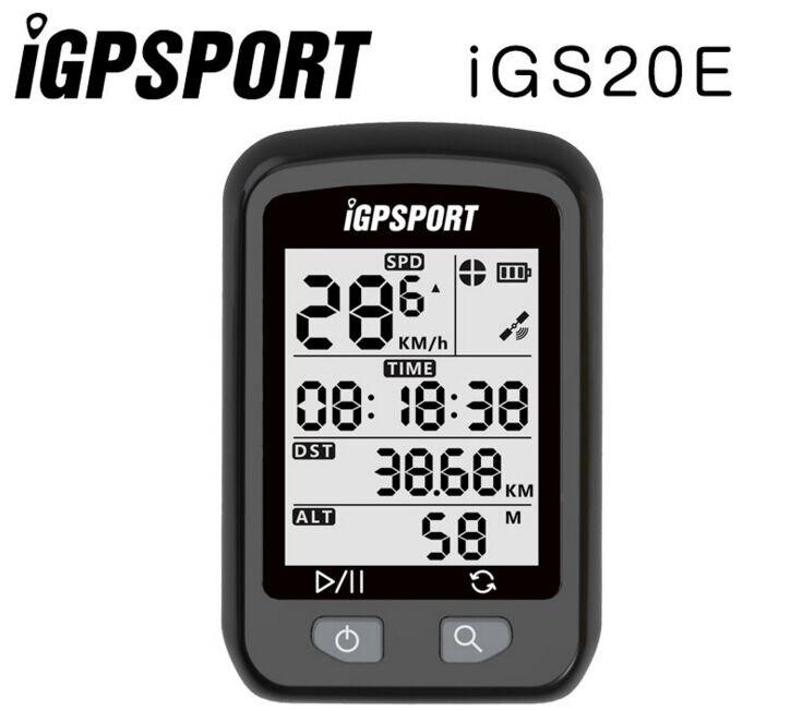 IGPSPORT iGS20E GPS Vélo Ordinateur De Vélo Étanche Permis Montage titulaire Route/VTT Vélo Prix PK Bord 200 Bryton Rider310