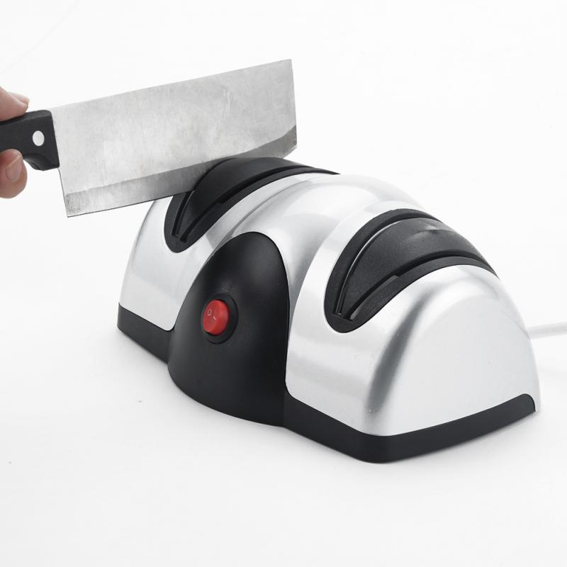 Multifunction Automatic Electrical Knife Sharpener Electric 2 Stage Kitchen  Knife Sharpener For Knives Scissors Screwdrivers