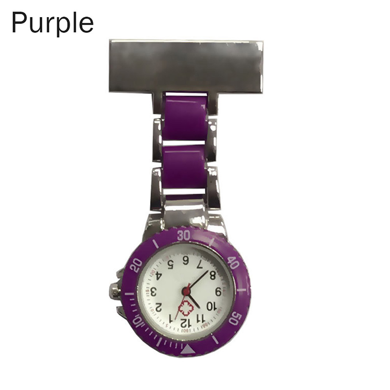 Nurse Pocket Watches Arabic Numerals Quartz Brooch Watch Doctor Nurse Hanging Pocket Watches LXH