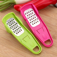 It is all about garlic crusher and garlic peeler.
