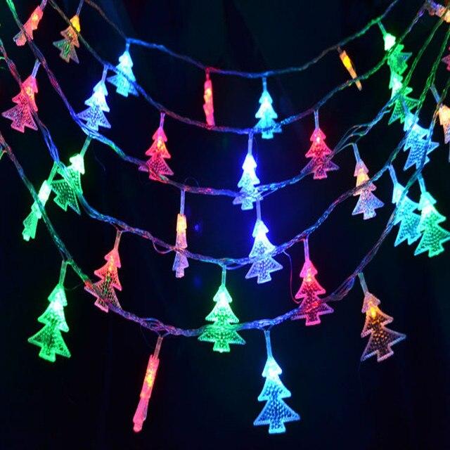 10M 80 LED Christmas Tree Shape Bulbs Fairy String Lights Lamps Wedding  Party Xmas Garden Outdoor