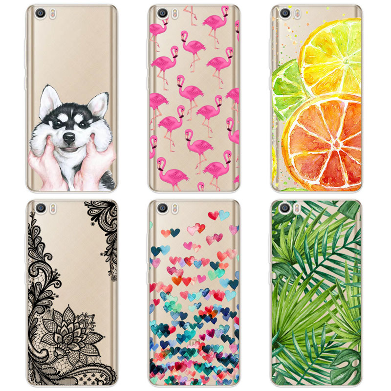 TPU Soft Cases For Xiaomi Mi5 Mi 5 M5 Transparent Printing Drawing Phone Cases Cover For Xiaomi mi5 mi 5 m5 Silicone Phone Cases