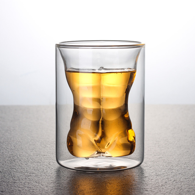 Sexy Body Shaped Whiskey Glass