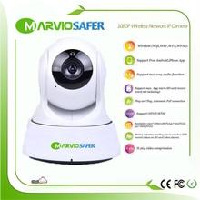 1080P 2MP Full HD Night Vision IR CCTV IP wi-fi WiFi Wireless Network Camera Camara Pan and Tilt wi fi IPCam Cam PTZ RTSP Onvif