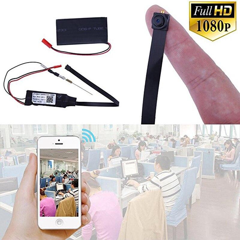 DIY WIFI Mini cámara P2P Red HD 1080 p Micro Cámara 1/3 CMOS pequeño cam Cámara videocámara 24 H Video registro ISO de Windows/Android