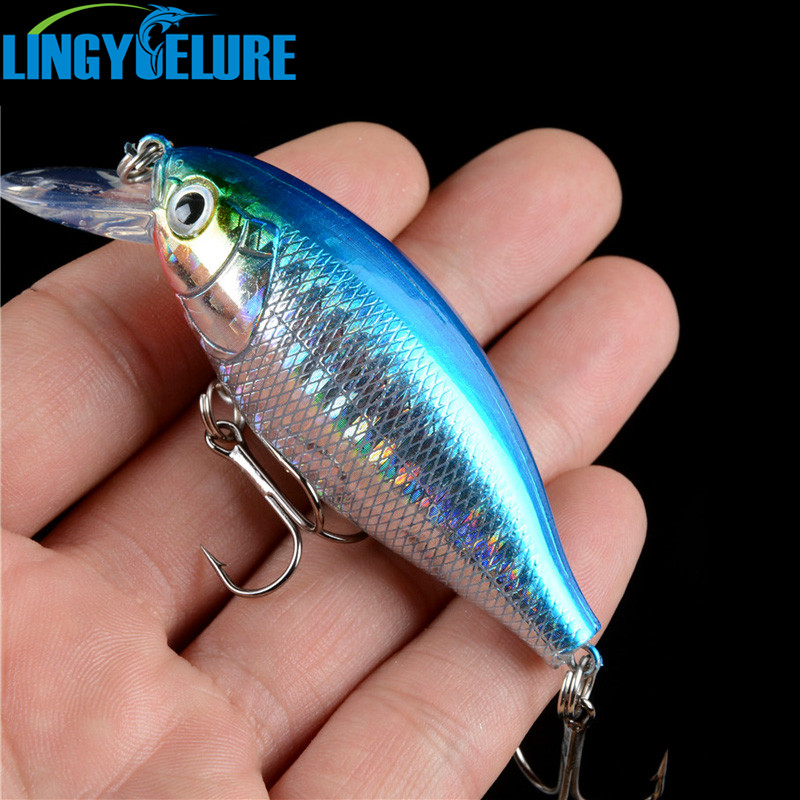7CM/14G Fatty Crank Fishing Crankbait Hard Artificial Bait Treble Hooks Fish Wobbler Japan Tackle Pesca mmlong 12cm realistic minnow fishing lure popular fishing bait 14 6g lifelike crankbait hard fish wobbler tackle pesca ah09c