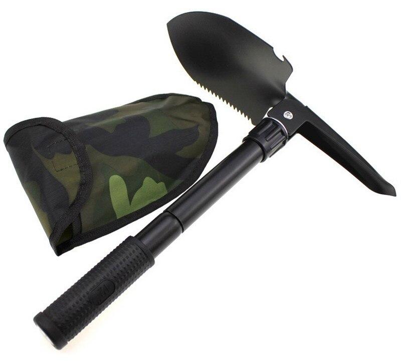 ⑦Mainpoint nuevo multi-funcional Militar portátil plegable pala ...