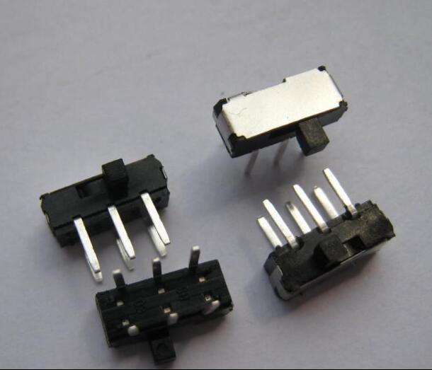 Free shipping 500PCS MSK22D18 MSK-22D18 DIP 6PIN 2P2T toggle switch side slide switches best quality.
