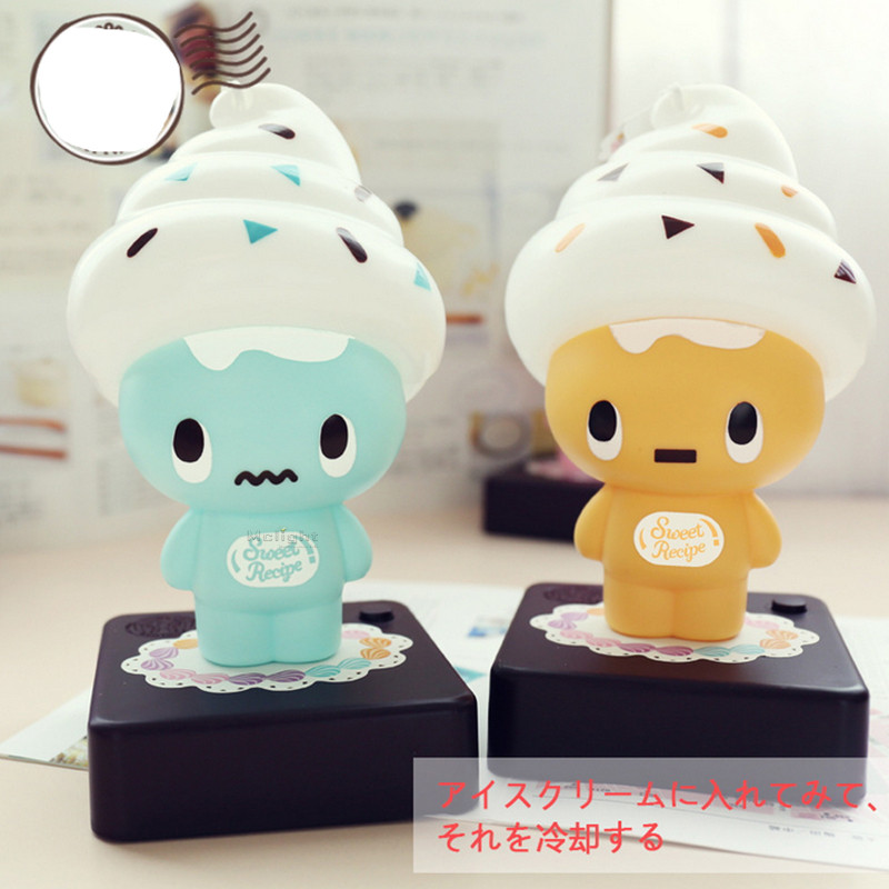 Elegant Cute USB Ice Cream Cone Shaped Night Light LED Desk Table Lamp Kids  Children Bedroom Decoration Lights Girlfriend Gift In Night Lights From  Lights ...