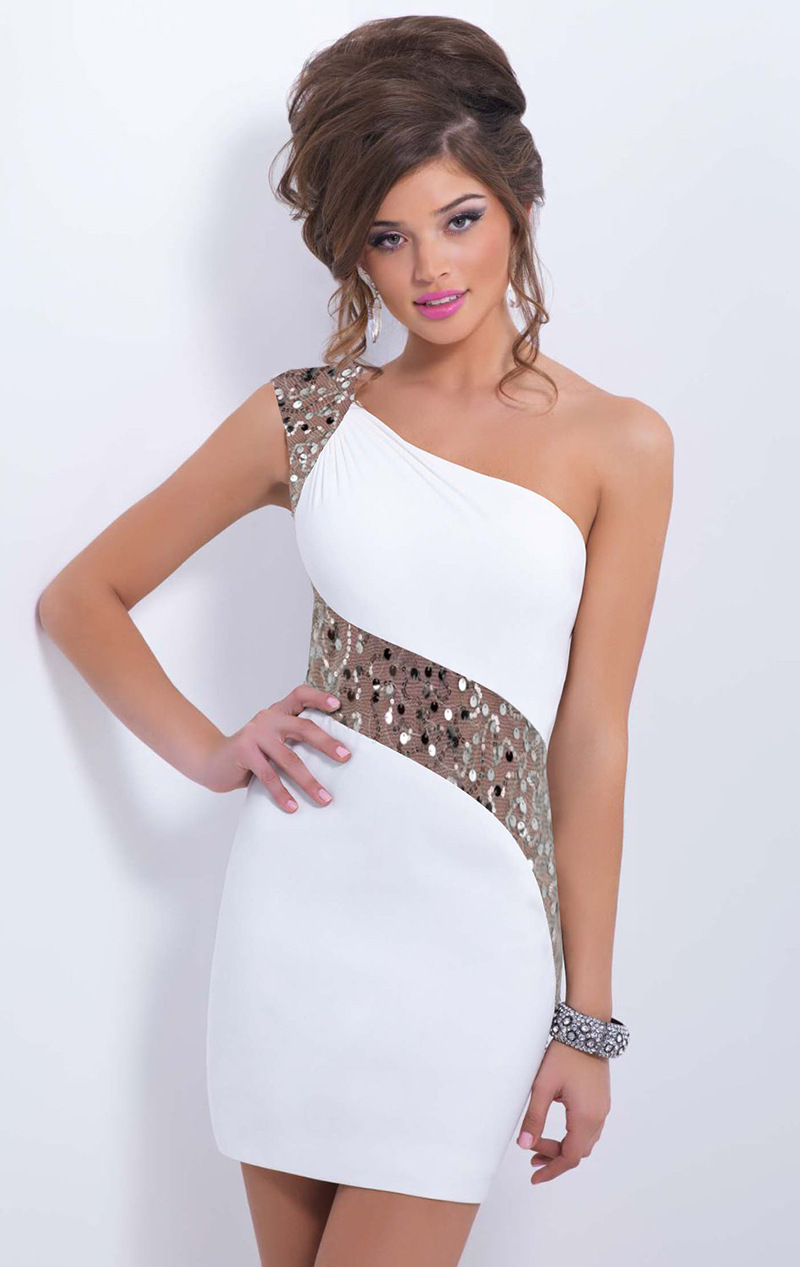 Top Sale Sexy Club Dress Women's  One Shoulder Dress Party Costumes