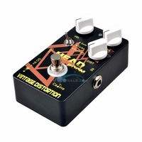 CP 34 VINTAGE DISTORTION Guitar Effects Caline CP34 Guitar Pedals Pedel Effects Black Color Free Ship