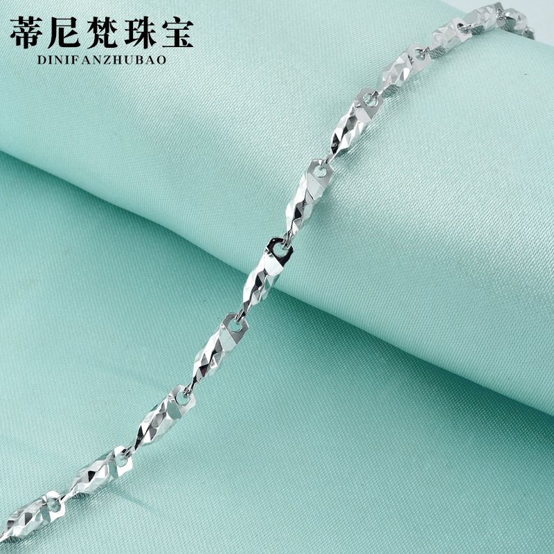 цены 2018 Real Sale Choker Kolye Moana Manufacturers Selling S925 Chain Necklace Clavicle Single Cylinder 2.5 M Dnfl076 Distribution