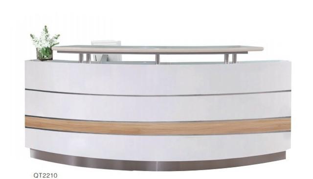 Commerciële moderne kantoor vloer houten receptie executive