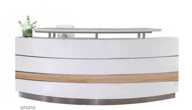 Scrivania Reception Ufficio : Commerciale ufficio moderno pavimento in legno reception scrivania