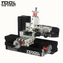 Thefirsttool Zhouyu TZ20005MM большая мощность 60 Вт Мини Металл Горизонтальный фрезерный станок 12000r/мин Дети DIY образование лучший подарок