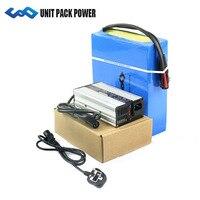 Customized 48V Lithium Battery Pack 48V 12Ah eBike Battery plus Charger 30A BMS for 1000W Bafang Motor