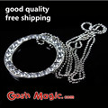 free shipping gimmick magic  trick Jewelry Infinity Ring close up magic  tricks tools toy