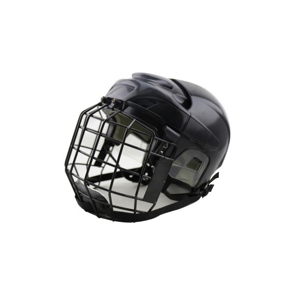 Free shipping High Quality PP material EPP Foam comfortable black Ice Hockey player Helmet with face field for sale free shipping hockey skates black color 507