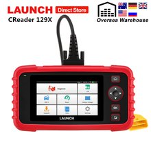 Launch X431 CRP129X OBD2 Scanner Engine ABS SRS AT Diagnostic Tool Oil SAS EPB TPMS Reset Creader 129X OBDII Code Reader CRP129 цена