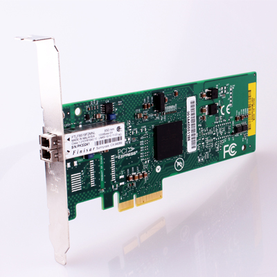 Broadcom BCM 5708 10M/100M/1000M Gigabit Fiber NIC Desktop Work Station Server PCI-E X4 Network Card with Single Mode Module