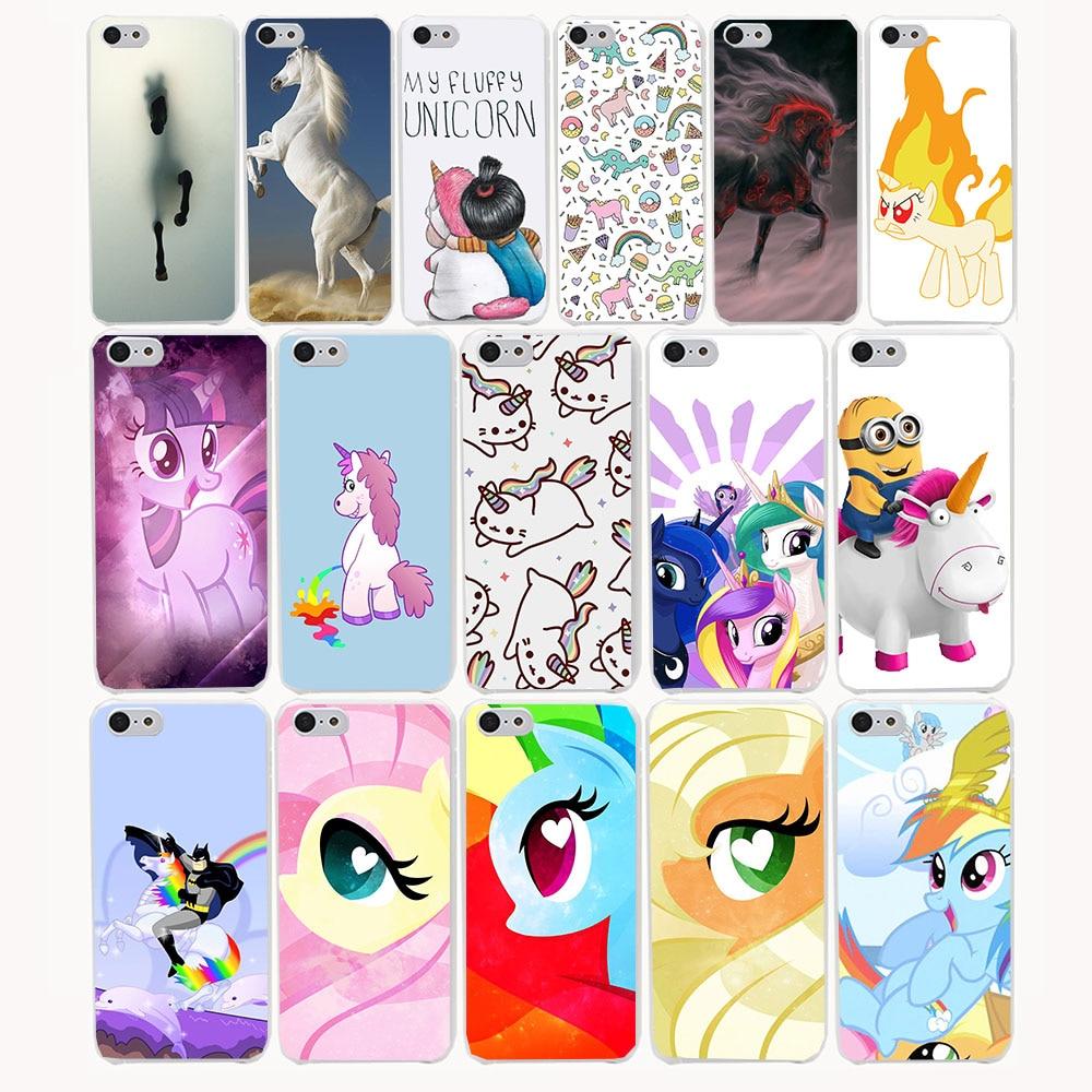 1517G lovely Horse Spirit Print Hard Transparent Case Cover for iPhone 7 7 plus 4 4s 5 5s 5c SE 6 6s Plus case cover