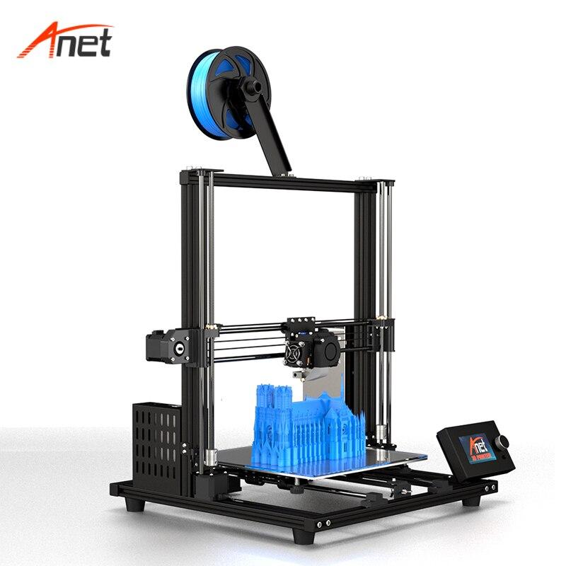 Bilgisayar ve Ofis'ten 3D Yazıcılar'de Yüksek doğruluk masaüstü otomatik seviye parçaları 3D yazıcılar Anet yükseltilmiş A8 artı 3d yazıcılar 3d yazıcı DIY montaj kiti Imprimante 3d title=