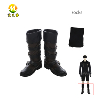 Game Neil Mechanical Age Actor 2B Cosplay Boots + Socks Halloween Carnival Accessories For Adult High Quality Props