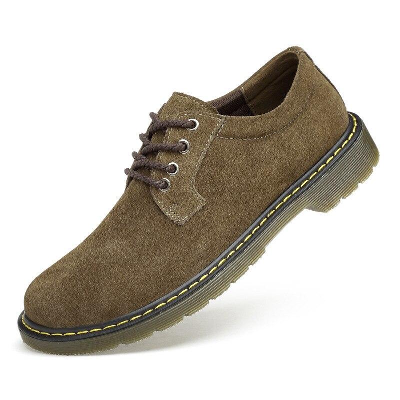 Noir Casual 38 88 Zapatos Hombre Chaussures Oxford 48 Pour Grande marron En Hommes gris Suédé Taille Mocassins Ayakkab jaune Erkek Noir Cuir U5wKqOTf