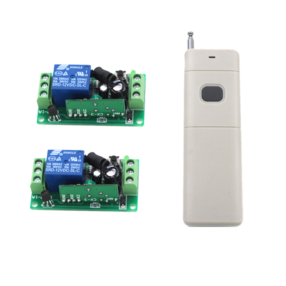 3000m DC 12V 1CH 1 CH Wireless Remote Control Light Switch System Remote Controller Transmitter Receiver 315/433Mhz3000m DC 12V 1CH 1 CH Wireless Remote Control Light Switch System Remote Controller Transmitter Receiver 315/433Mhz