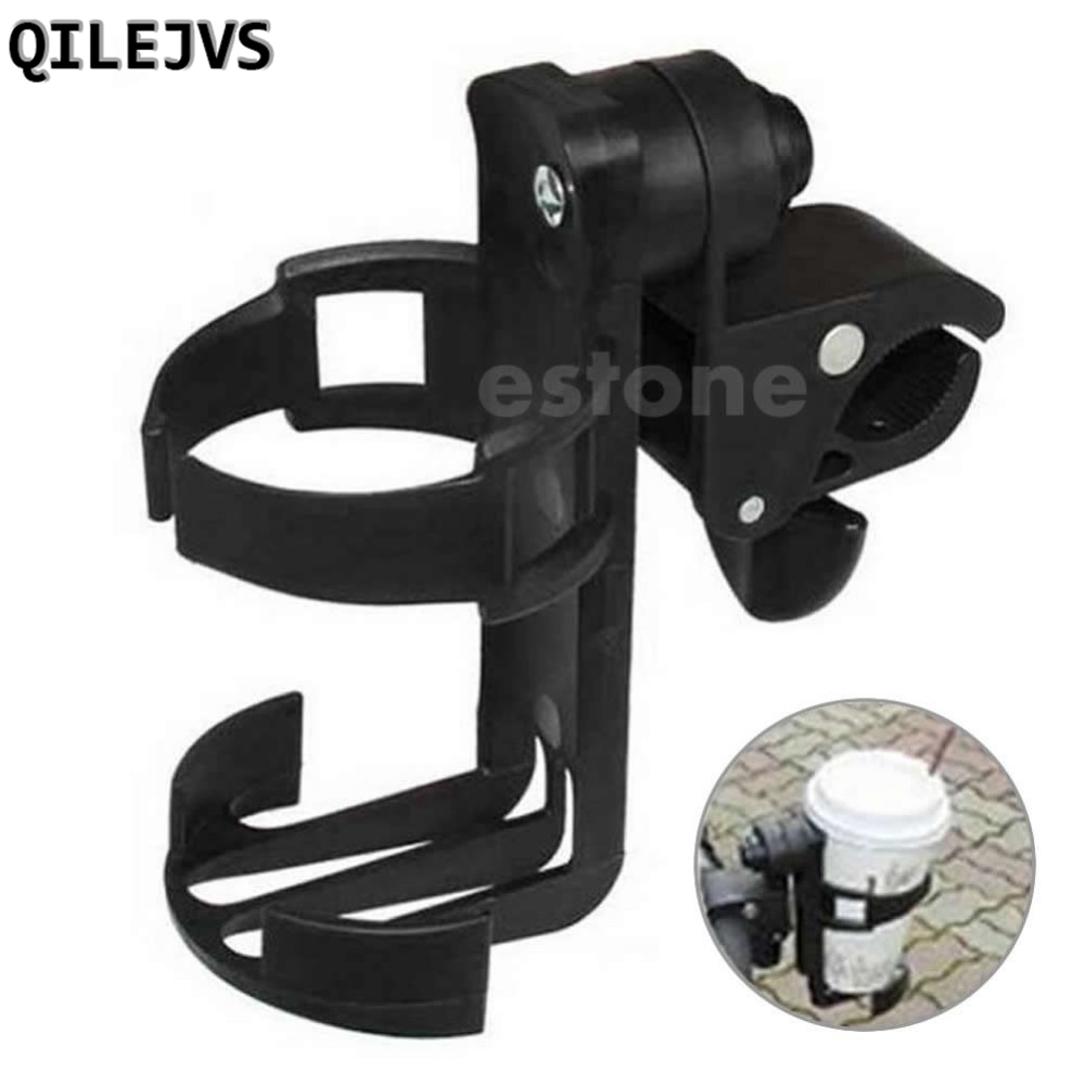 QILEJVS Motorcycle Bicycle Beverage Water Bottle Cage Drink Cup Holder Quick Release Bike Accesorios