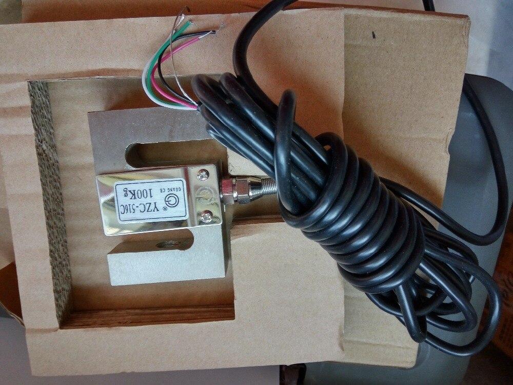 Stock offre YZC-516C capteur de pression S type cellule de charge pour échelle de dosage 100KG 200KG 300KG 1T 500KG 1.5T 2T