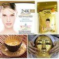24 K oro activo mascarilla de polvo 50 g Anti envejecimiento de lujo Spa tratamiento