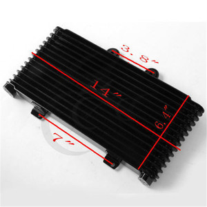 Image 3 - Motorcycle OIL Cooler Radiator Aluminum Replacement For SUZUKI GSF1200 GSF 1200 2001 2005