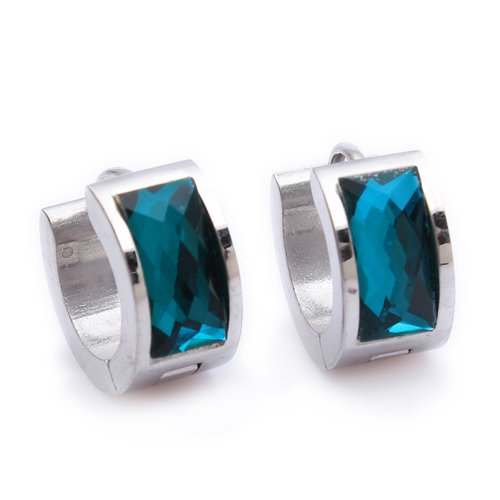 Mens female Jewelry wholesale Stainless Steel Mens Earrings E97