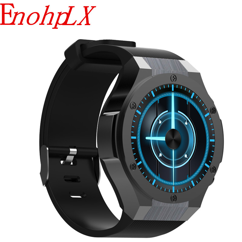 EnohpLX H2 Life waterproof 1.4 inch 400*400 GPS Wifi 3G Heart Rate Monitor 1GB+16G Smart Watch MTK6580 For Android IOS