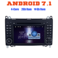 Android 7 1 Quad Core Car DVD Gps For Benz Viano Vito Sprinter W315 W318 A
