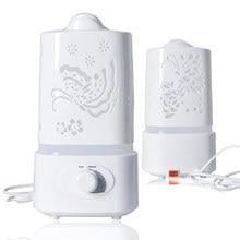 Мини Ароматерапия Увлажнитель Воздуха Fogger LED Ночник Ультразвуковая Арома диффузор Mist Чайник для Домашнего Офиса