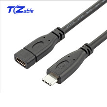 USB-C 3.1 Male To Female Type-C Extended Data Cable USB-C Fa