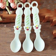 4Pcs Dinnerware Baby Spoons Tableware Gadget Boon Children Flatware Feeding Spoon Infant Cutlery Spoon For Baby Kid Utensils(China)
