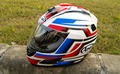 2017 nueva arai casco integral de motocicleta abs cascos de moto cascos de carreras de moto caballero proteger tapa wiht 313 rápido de color