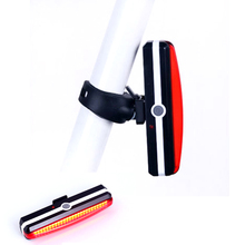 New Bicycle USB Rechargeable LED Light Front / Rear Outdoor Cycling Warning Lamp Night Safety Tail