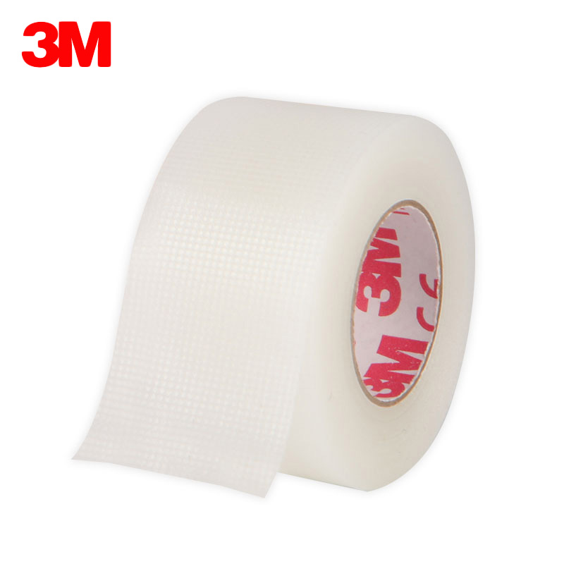 3M Tapes Medical Tape Breathable PE/Nonwoven Paper Hypo-allergenic Tape Household Emergency First Aid Accessories 12 Rolls/lot