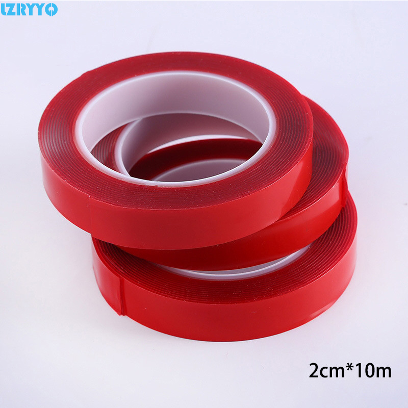 Sticker For Range Rover Sport Transparent Promotion Tpu: 1Pcs 10Roll/Lot 20mm Thin Super Strong Force Glue Red