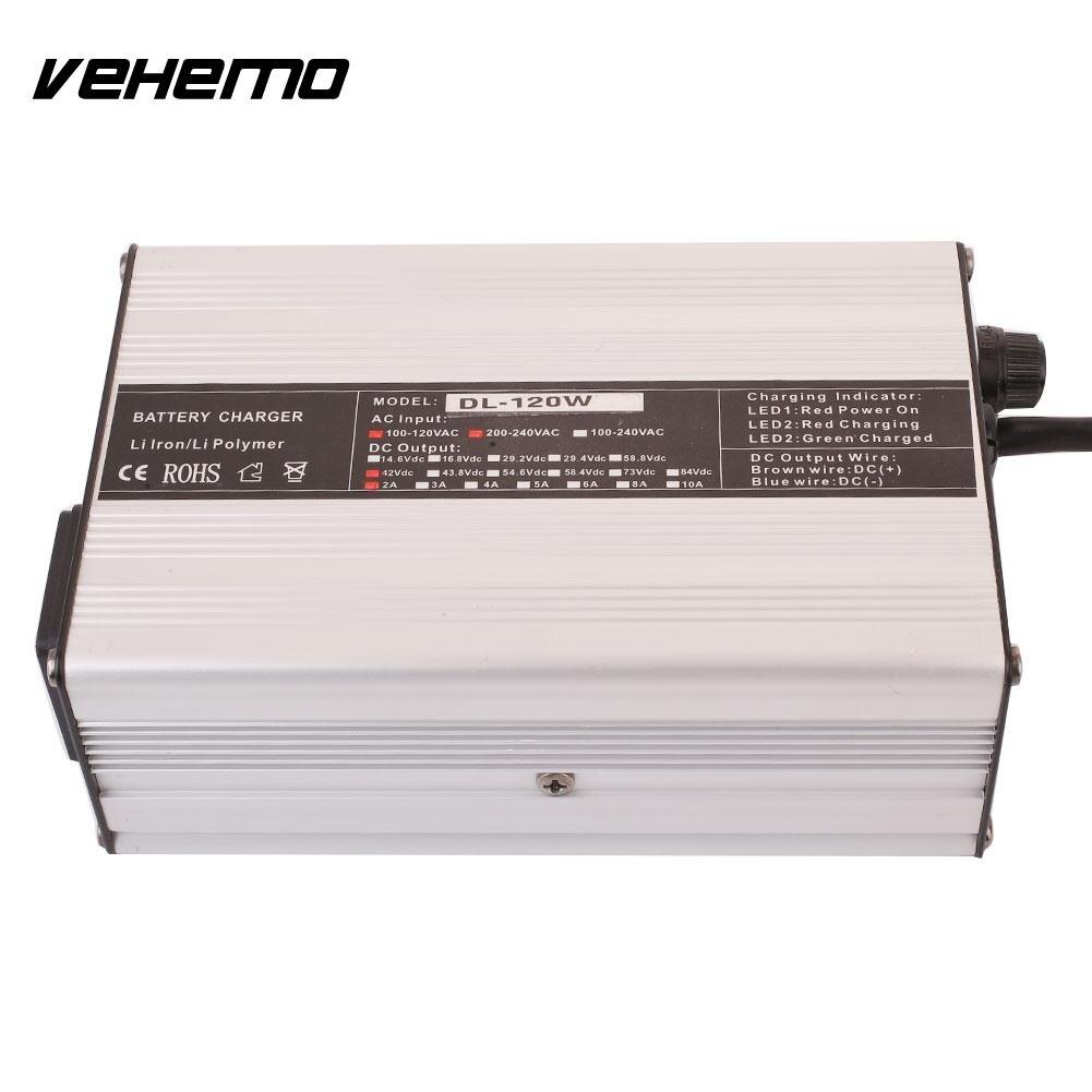 Vehemo XLR 42 V 2A chargeur Kit de charge 36 V vélo électrique Li Ion batterie haute qualité E vélo