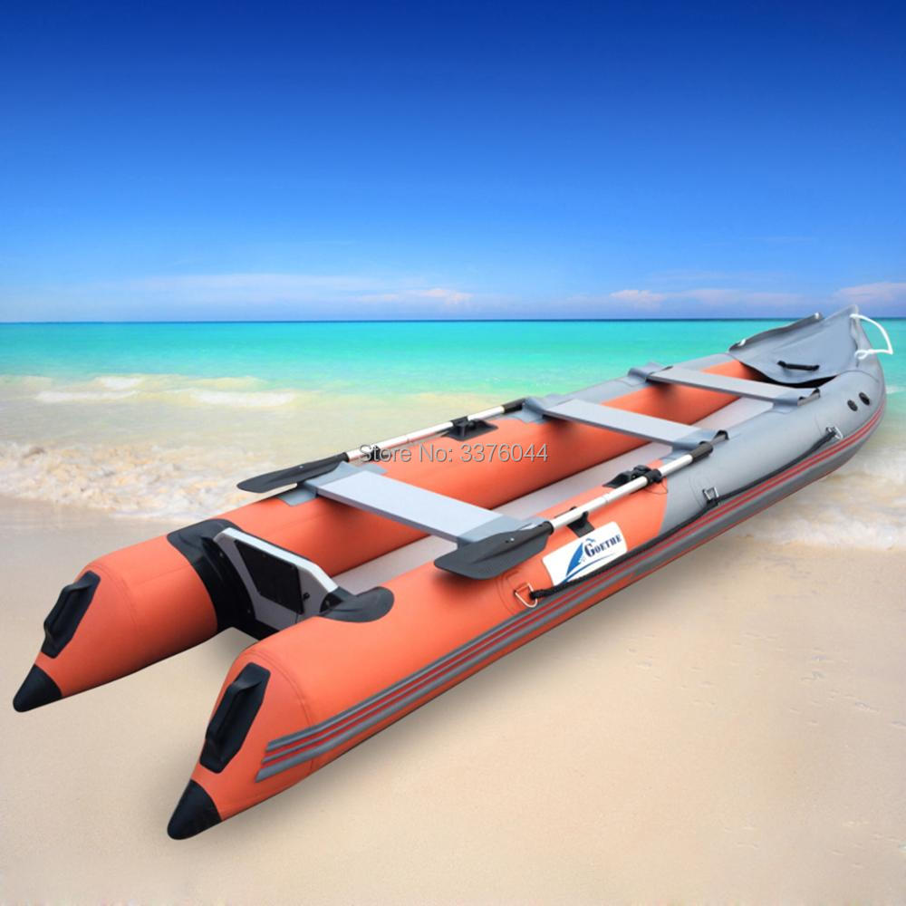 Us 485 0 Gtk420 3 People Inflatable Kayak Fishing Boat Ocean Kayak Sport Boat For Sale Kayaks For Sale In Rowing Boats From Sports Entertainment