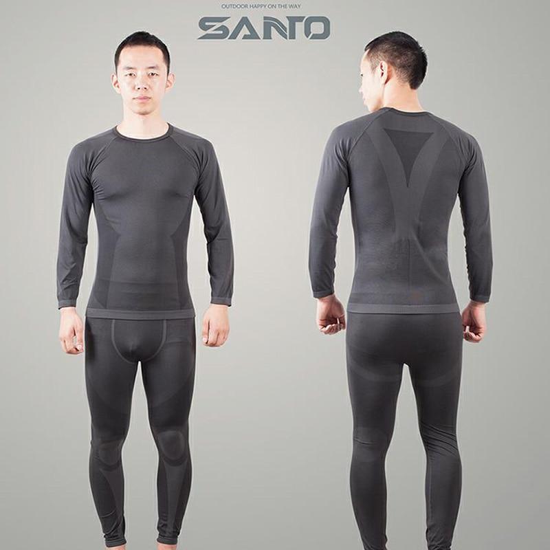 U-12 Santo Mens Fever Fibers Underwear Sport Camping Thermal Underwear
