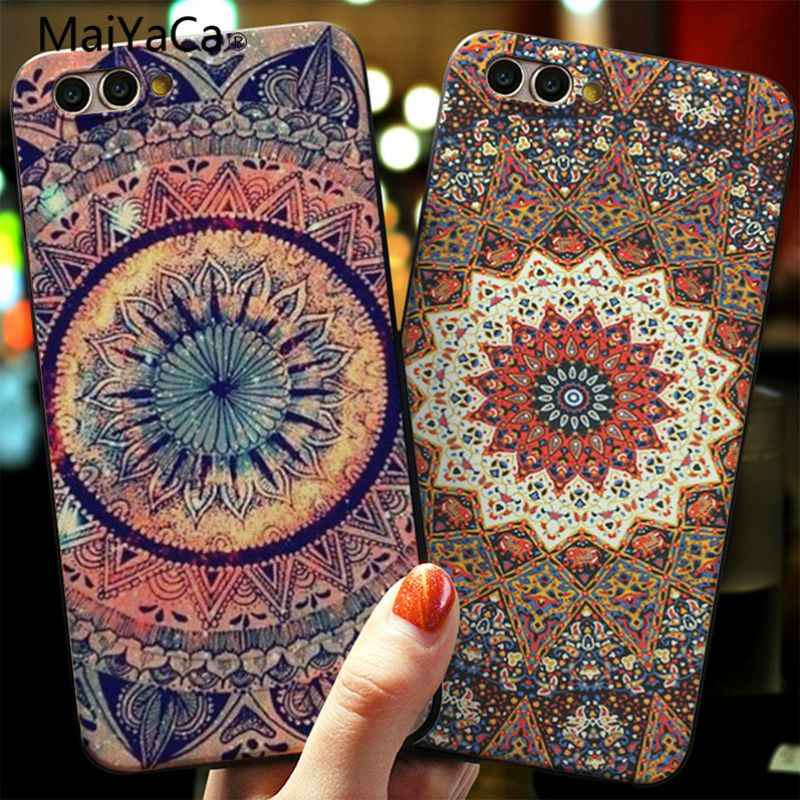 MaiYaCa Mandala Sun Flower DaturaRetro Flora cover Cases For Huawei P20 P20pro P20 Lite Honor 9 10 mate9 mate10 P9 P10 plus