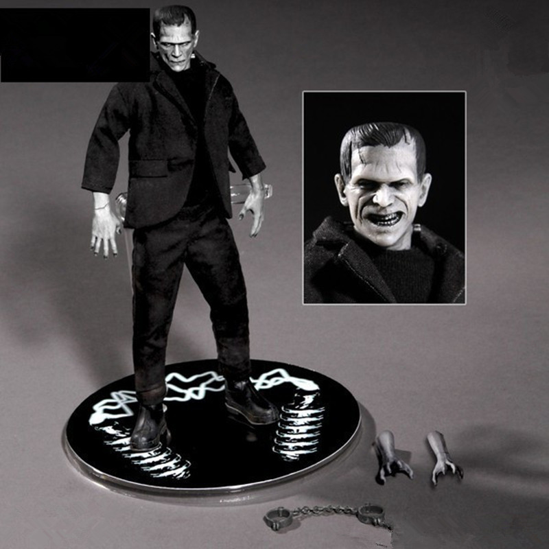 New Frankenstein One:12 Mary Shelley PVC Cartoon Action Figure Collectible Model Toy L2137 neca marvel legends venom pvc action figure collectible model toy 7 18cm kt3137