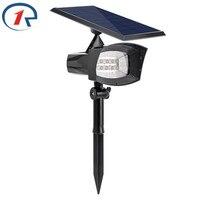 ZjRight 400lumen Outdoor Led Solar Light Patios Decks Pathways Stairways Security Solar Lamp LED Outdoor Garden